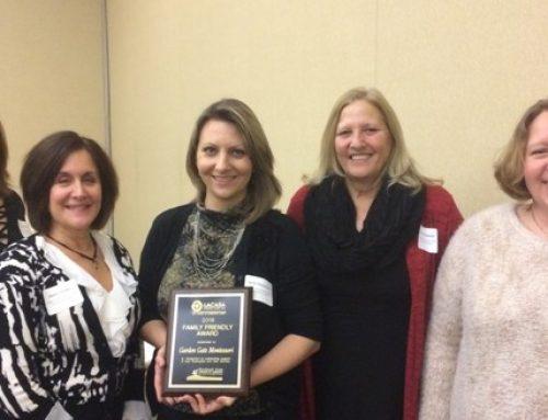 Family Friendly Award Winner Named