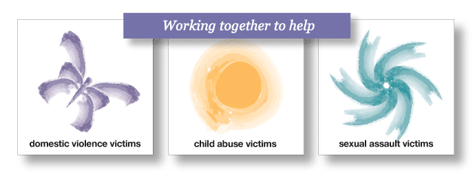 Working together to help victims