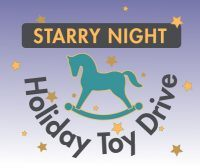 Starry Night Holiday Toy Drive Logo