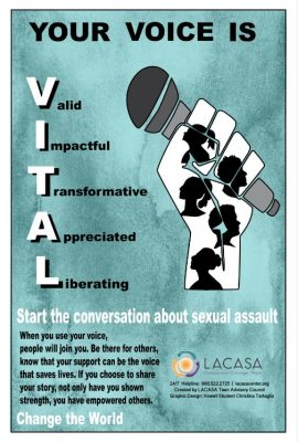 Your Voice is VITAL Poster