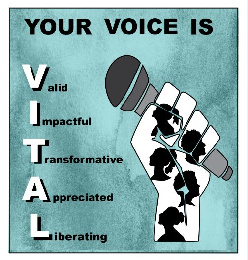 Your Voice is VITAL