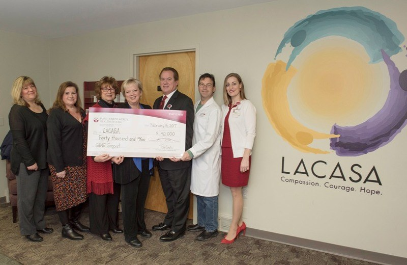 Hospital Donates $40k to Save SANE Program