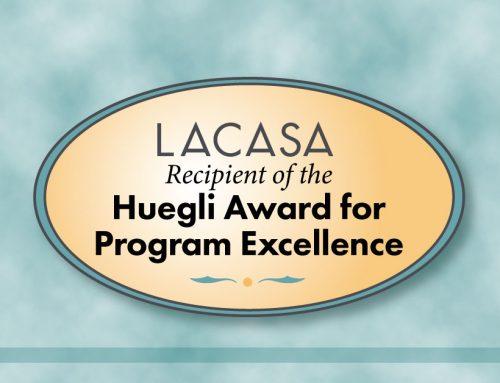 Huegli Award Announcement