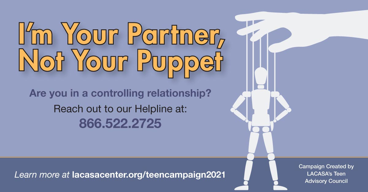 I'm your partner, not your puppet