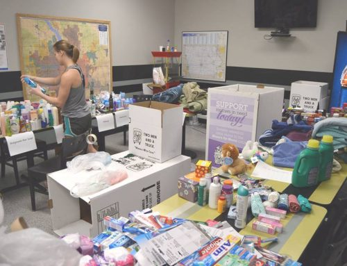 'Movers for Moms' Hosts Donation Drive