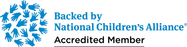 Backed by National Children's Alliance Accredited Member