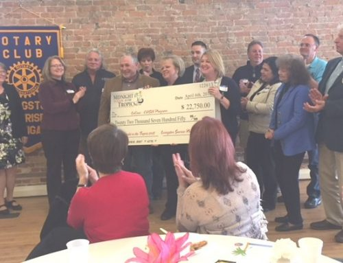 Sunrise Rotary Supporters Help Youth in Need