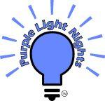 Purple Light nights logo